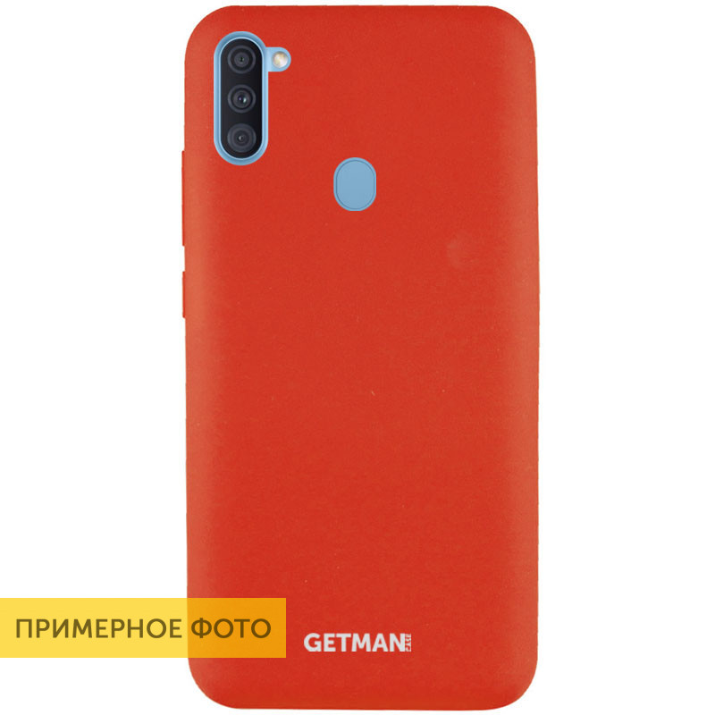 Чехол Silicone Case GETMAN for Magnet для Apple iPhone 11 Pro Max Красный