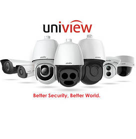 Відеоспостереження UNIVIEW
