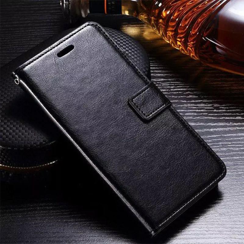 Чехол Wallet Glossy с визитницей для Samsung A750 Galaxy A7 (A750) 2018 Черный Искусственная кожа Чехлы Чехол-книжка