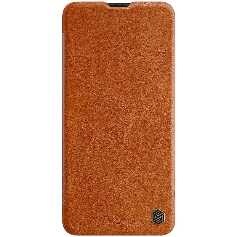 Кожаный чехол (книжка) Nillkin Qin Series для Samsung Galaxy A20s