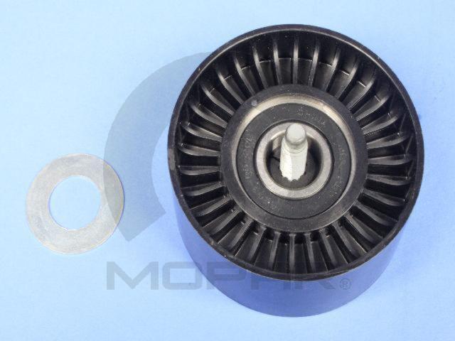 Ролик паразитный с крепежным болтом, пластиковый CHRYSLER 68058372AA Dodge Durango RAM