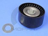 Ролик паразитный с крепежным болтом, пластиковый CHRYSLER 68058372AA Dodge Durango RAM, фото 2