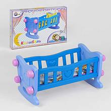 Кроватка для куклы 4197 4 Технок Синий IG-57292, КОД: 1490912