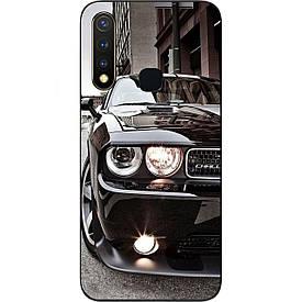 Чехол с картинкой силиконовый для Vivo Y19 Авто