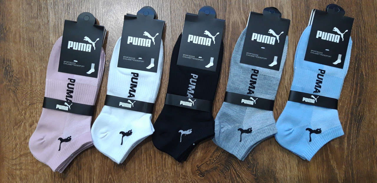 "Женские короткие носки(сетка)в стиле""Puma K"",Турция 36-42"