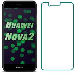 Защитное стекло Huawei Nova 2 (Прозрачное 2.5 D 9H) (Хуавей Нова 2)