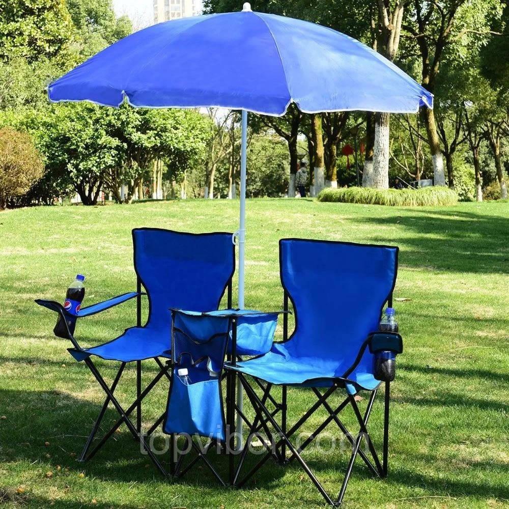 Зонт с наклоном от солнца, синий, большой зонтик садовый, пляжный 1.75 м. с доставкой (VT)