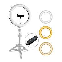 Светодиодная кольцевая лампа с держателем YIFENG F-260A для смартфона LED селфи кольцо для видео блогеров