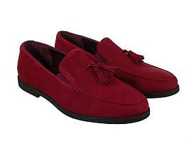 Туфлі Etor 15098-6589-1 бордовий