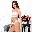 Комплект нижнего женского белья от Mito Розовый, фото 2