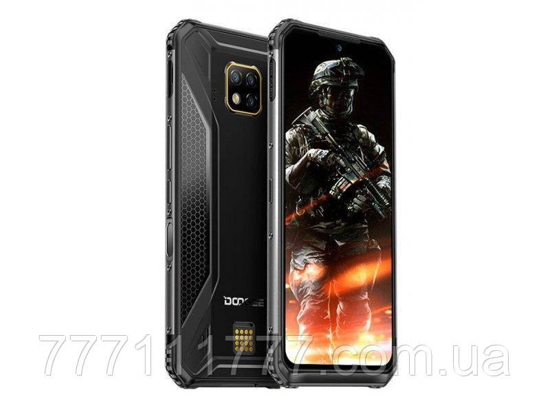 Смартфон противоударный с мощной батареей и тройной камерой Doogee S95 Pro black 8/128 SUPER VERSION NFC