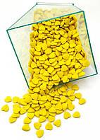 Посыпка кондитерская Сердца желтые 50гр