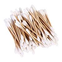 Бамбуковые ватные палочки 100 шт, фото 1