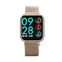 Умные часы Smart watch band bracelet P80 с тонометром Gold (SB0001P80G)