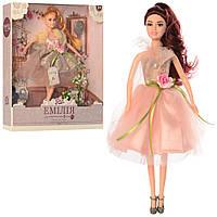 Лялька Емілія шарнірна 29см, туфлі, аксес. M4373UA