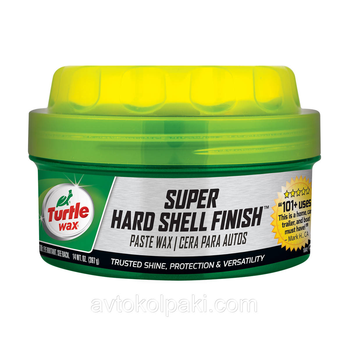 Супер твердый воск Turtle Wax Super Hard Shell Finish  397гр