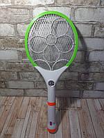 Электромухобойка аккумуляторная + Фонарь в виде ракетки ( ракетка мухобойка )