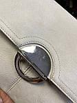 Модная женская бежевая сумочка, фото 3