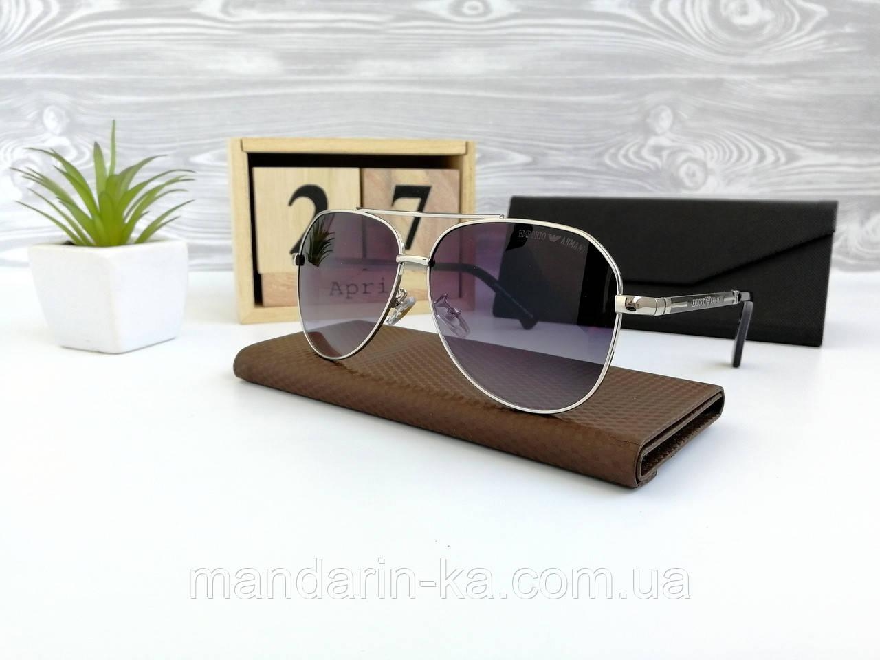 Мужские солнцезащитные очки полароид реплика