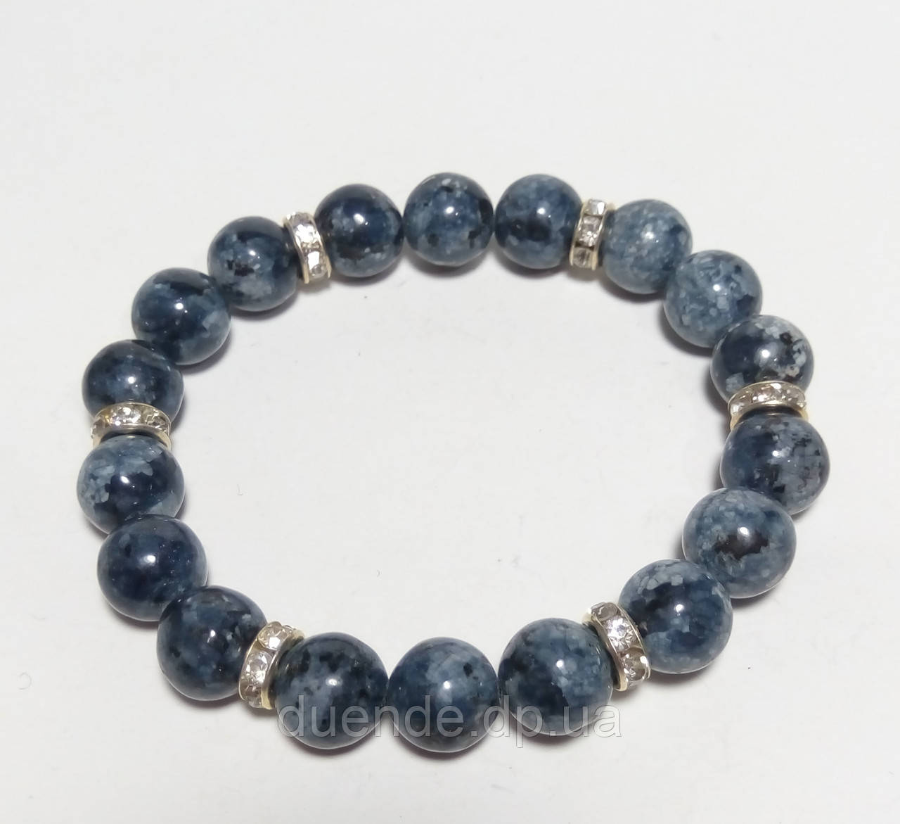 Браслет сапфировый кварц, натуральный камень, тм Satori \ Sb - 0087