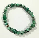 Браслет Яшма, натуральный камень, цвет зеленый и его оттенки, тм Satori \ Sb - 0103, фото 2