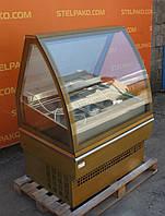 Низкотемпературная холодильная витрина для мороженого «UNIS Cool GEORGIA III 1000 ICE CREAM», (Польша), Б/у, фото 1