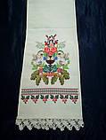 Рушник свадебный Изобилие, ручная вышивка, фото 5