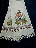 Рушник свадебный Изобилие, ручная вышивка, фото 6
