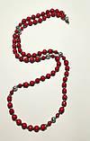 Бусы из Коралла, натуральный камень, цвет красный и его оттенки, тм Satori \ Sk - 0014, фото 2