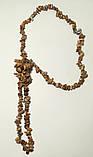 Бусы длинные из Яшмы пейзажной, натуральный камень, длина 100 см, тм Satori \ Sk - 0060, фото 2