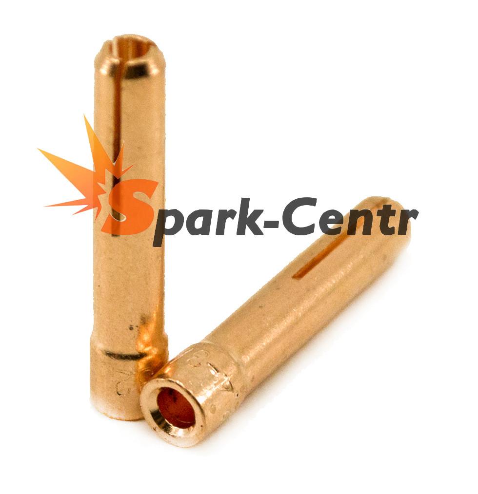 Цанга Ø2,4 мм стандартная 25 мм, серия 13N для горелки WP-9