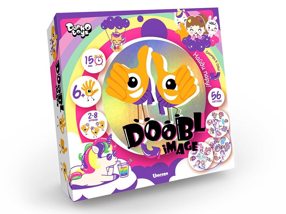 Гра настільна Danko Toys Doobl Image велика Unicorn (доббль, знайди пару) (Укр) (DBI-01-04)