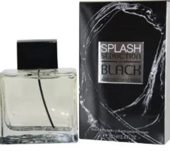 Мужская туалетна вода Antonio Banderas Black Seduction Splash 100 мл