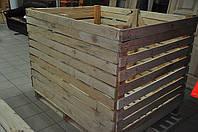 Изготовление контейнеров овощных 1200х1200х1600 деревянный разборный