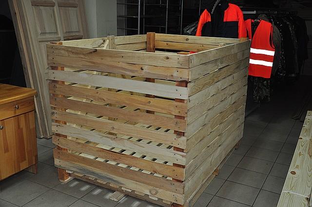 Контейнер овощной 1200х1200х1600 деревянный разборный