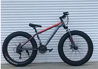 Спортивный велосипед фетбайк topRider-630 красный