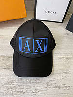 Armani Baseball Cap With Embossed Logo Blue