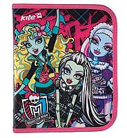 Папка для тетрадей А5+ KITE на молнии Monster High