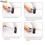 Точилка для ножей Myvit (3 ступени заточки). Ножеточка в 3 этапа, фото 6
