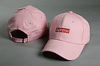 Кепка Supreme розовый