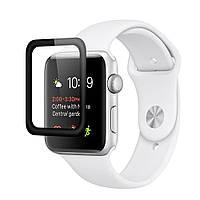 Защитное стекло 3D Apple Watch 42 mm black