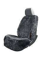 Чехол на автомобильное сиденье Ultimate Speed Черный с серым (K10-440088)