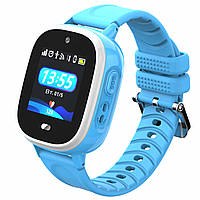 Детские оригинальные GPS часы JETIX DF40 (WiFi + Anti Lost Edition) c защитой IP67 Blue (0000009)