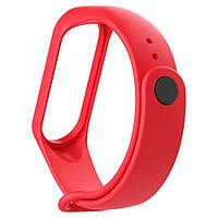 Ремешок Silicone Xiaomi Mi Band 3/4 red