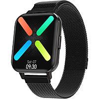 Смарт-часы Smart Watch NO.1 DTX с тонометром Black (SW0001DTXB)