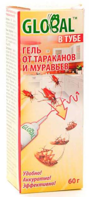 Глобал гель туба от тараканов и муравьев 60 г 6121455