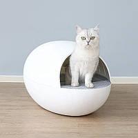Автоматический туалет для кошек Pet Manager, Белый,