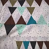 Хлопковая ткань (бязь Gold) 220см Треугольник