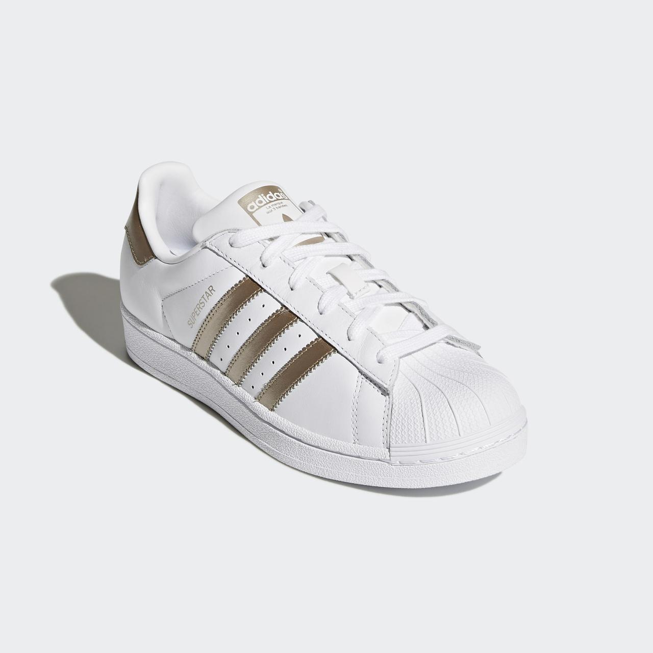 Adidas Originals Superstar Cyber Metallic CG5463 оригінальні жіночі білі кросівки