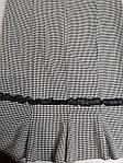 Юбка летняя годе стрейч черно-белая 46,48,50 Ю 019, фото 3